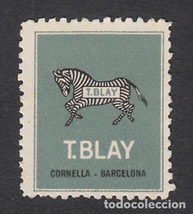 VIÑETA T. BLAY EN CORNELLÁ - BARCELONA (Sellos - Extranjero - Viñetas)