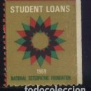 Sellos: S-3610- STUDENT LOANS. NATIONAL OSTEOPHATIC FUNDATION. 1969 . Lote 162308402