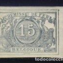 Sellos: S-3629- BELGICA. BELGIQUE. CHEMINS DE FER.. Lote 162338966