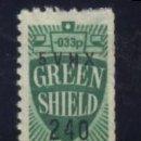 Sellos: S-3746- VIÑETA. GREEN SHIELD. . Lote 164735526