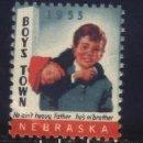 Sellos: S-3779- USA. NEBRASKA 1953. BOYS TOWN. . Lote 164829518
