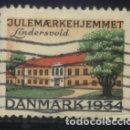 Sellos: S-3780- DANMARK 1934. JULEMAERKEHJEMMET. LINDERSVOLD. Lote 164830130