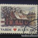 Sellos: S-3811- DANMARK . VARDE. JULEN 1983.. Lote 164930938