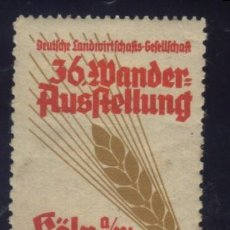 Sellos: S-4150- ALEMANIA. GERMANI. KÖLN 1930. Lote 171381472