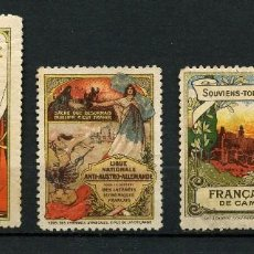 Timbres: FRANCIA, VIGNETTES FRANCE, 1914. Lote 171814945