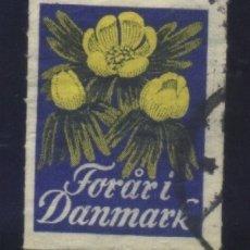 Sellos: S-4204- DINAMARCA. DANMARK. VIÑETA.. Lote 175858519