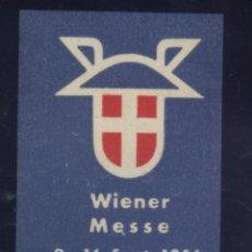 Sellos: S-4373- ÖSTERREICH. AUSTRIA. VIENER MESSE 1956. Lote 183451631