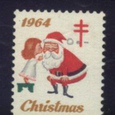 Sellos: S-4374- USA. CHRISTMAS. PRO TUBERCULOSOS. CRUZ DE LORENA. 1964. Lote 183451753