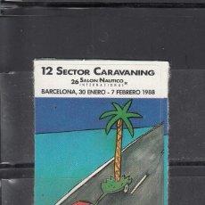 Sellos: 12 SECTOR CARAVANING. BARCELONA. Lote 184430723