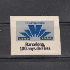 Sellos: BARCELONA. 100 ANUY DE FIRES. Lote 184431208