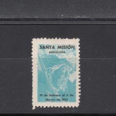 Sellos: SANTA MISION. BARCELONA. Lote 184431555
