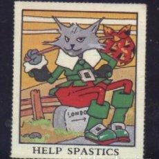 Sellos: S-4441- HELP SPASTICS . Lote 187193046