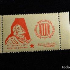 Sellos: CONSELL NACIONAL CATALÀ - 10 PESETES. Lote 188610808
