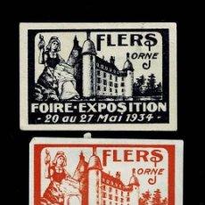 Sellos: F5-24 FRANCIA - FLERS (ORNE) FOIRE-EXPOSITION 15 AU 22 MAI 1932 (FERIA FLERS (ORNE) - EXPOSICIÓN 15. Lote 193756198