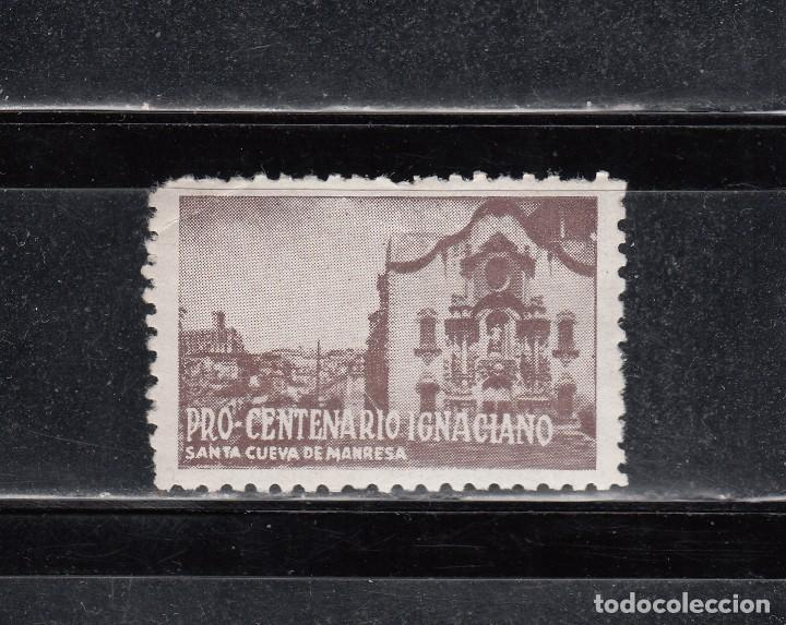 PRO-CENTENARIO IGNACIANO. SANTA CUEVA DE MANRESA (Sellos - Extranjero - Viñetas)