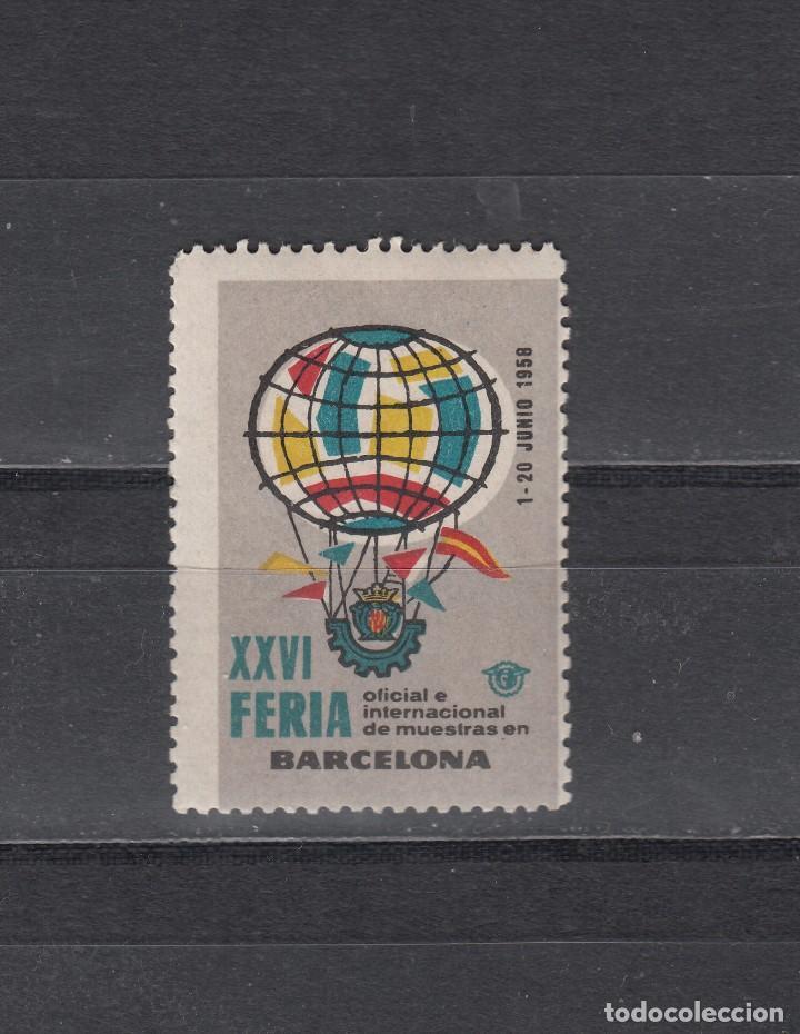 XXVI FERIA INTERNACIONAL DE MUESTRAS DE BARCELONA (Sellos - Extranjero - Viñetas)