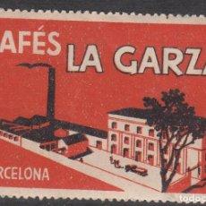 Francobolli: VIÑETA - CAFÉS LA GARZA BARCELONA . Lote 198924862