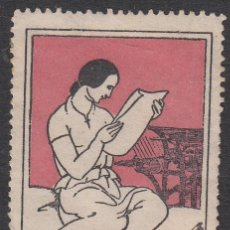 Francobolli: VIÑETA - IMPRESSOR SALENT EN SABADELL . Lote 198928175