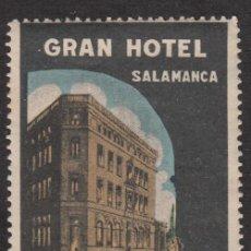 Francobolli: VIÑETA - GRAN HOTEL SALAMANCA . Lote 198932526