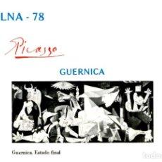 Selos: PINTURA PICASSO: 9 FASES DEL CUADRO GUERNICA . HOJITAS EXPOSICIÓN EXFILNA´78 . AÑO 1978. Lote 199292280