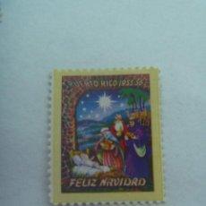 Timbres: VIÑETA DE PUERTO RICO : FELIZ NAVIDAD . 1955 - 56. Lote 201224881