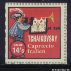 Sellos: S-4932- TCHAIKOVSKY. CAPRICCIO ITALIEN.. Lote 205725963