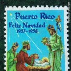 Timbres: VIÑETA NAVIDEÑA1957-58 PUERTO RICO. Lote 207445730