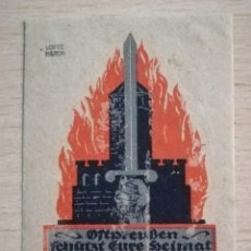 Sellos: VIÑETA HELFT !, AYUDA.AÑO 1918, ALEMANIA. Lote 210356162