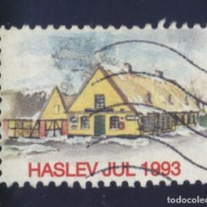 Sellos: S-5453- DINAMARCA. DANMARK. HASLEV JUL 1993.. Lote 218233320