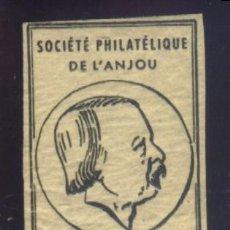 Sellos: S-5522- FRANCIA. FRANCE. SOCIÉTÉ PHILLATELIC DE L´ANJOU. DAVID D´ANGERS.. Lote 218296623