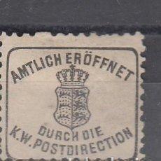 Sellos: VIÑETA. AMTILICH ERÖFFNET. DURCH DIE K. W. POSTDIRECTION.. Lote 235817815