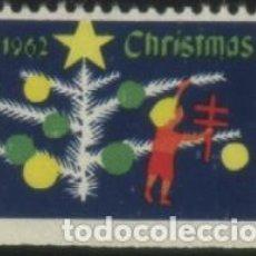 Sellos: S-6396- USA. CRHISTMAS 1962. PRO TUBERCULOSOS. CRUZ DE LORENA.. Lote 236728880