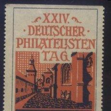 Sellos: S-6397- ALEMANIA. XXIV DEUTSCHER PHILATELISTEN TAG IN MARKTREDWITZ. 1912. Lote 236729660