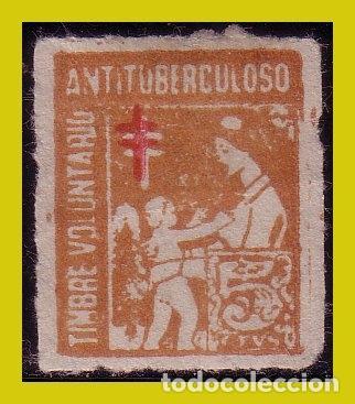 VIÑETAS, ANTITUBERCULOSOS, TIMBRE VOLUNTARIO, 5 CT (*) (Sellos - Extranjero - Viñetas)