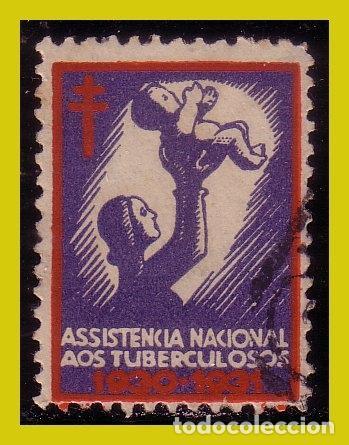 VIÑETAS, 1930 PORTUGAL ASISTENCIA NACIONAL A LOS TUBERCULOSOS (O) (Sellos - Extranjero - Viñetas)