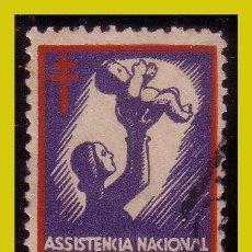 Sellos: VIÑETAS, 1930 PORTUGAL ASISTENCIA NACIONAL A LOS TUBERCULOSOS (O). Lote 242897430