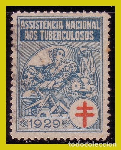 VIÑETAS, PORTUGAL 1929 ASISTENCIA NACIONAL A LOS TUBERCULOSOS (O) (Sellos - Extranjero - Viñetas)
