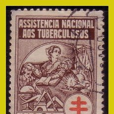 Sellos: VIÑETAS, PORTUGAL 1929 ASISTENCIA NACIONAL A LOS TUBERCULOSOS (O). Lote 242897965
