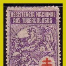 Sellos: VIÑETAS, PORTUGAL 1929 ASISTENCIA NACIONAL A LOS TUBERCULOSOS (O). Lote 242897985