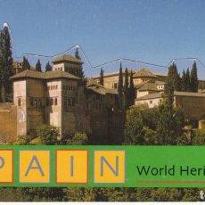 Timbres: SPAIN WORLD HERITAGE- 6 HB DE VIÑETAS DE GRANADA,MÉRIDA,CUENCA,TOLEDO,SEGOVIA,BARCELONA. Lote 246133110