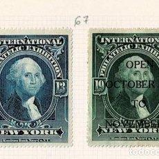 Selos: 67-NEW YORK VIÑETAS INTERNATIONAL PHILATELIC EXHIBITION 1913 OPEN OCTOBER TO NOVEMBER. Lote 264547709