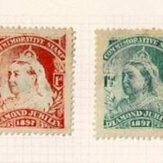 Selos: 125-INGLATERRA VIÑETAS COMMEMORATIVE STAMP - DIAMOND JUBILEE 1897. Lote 264678449