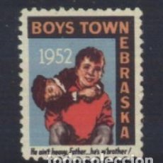 Sellos: S-6611- USA. NEBRASKA 1952. BOYS TOWN.. Lote 293642588