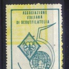 Sellos: S-6613- ITALIA. ASSOZIACIONE ITALIANA DI SCOUTFILATELIA.. Lote 293645198