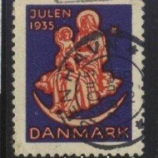 Sellos: S-6614- DINAMARCA. DANMARK. VIÑETA. JULEN 1935. Lote 293645648