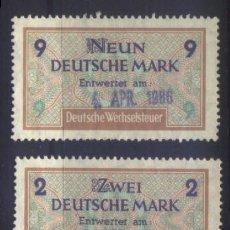 Sellos: S-6637- ALEMANIA. GERMANY. DEUTSCHE WECHSELSTEUR.. Lote 293898223