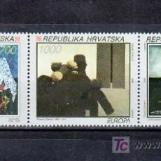 Sellos: CROACIA 197/9 SIN CHARNELA, TEMA EUROPA 1993, ARTE CONTEMPORANEO, . Lote 11129928