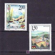 Sellos: BOSNIA-REPUBLICA SERBE (PALE) 125/6 SIN CHARNELA, EUROPA 1999, PARQUES Y RESERVAS NATURALES,. Lote 11130370