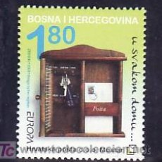 Sellos: BOSNIA-HERZEGOVINA - HERCEG BORNA 99 SIN CHARNELA, TEMA EUROPA 2003, EL ARTE DEL CARTE, . Lote 11130563