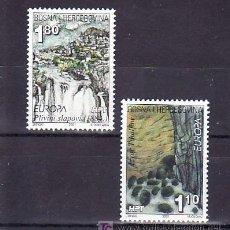 Sellos: BOSNIA-HERZEGOVINA - HERCEG BORNA 51/2 SIN CHARNELA, TEMA EUROPA 2001, EL AGUA RIQUEZA NATURAL. Lote 11130590